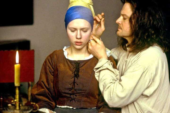 Девушка с жемчужной сережкой, фильм 2003