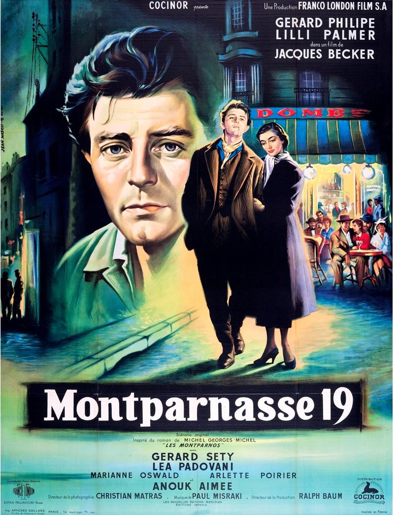 Монпарнас 19 фильм 1958