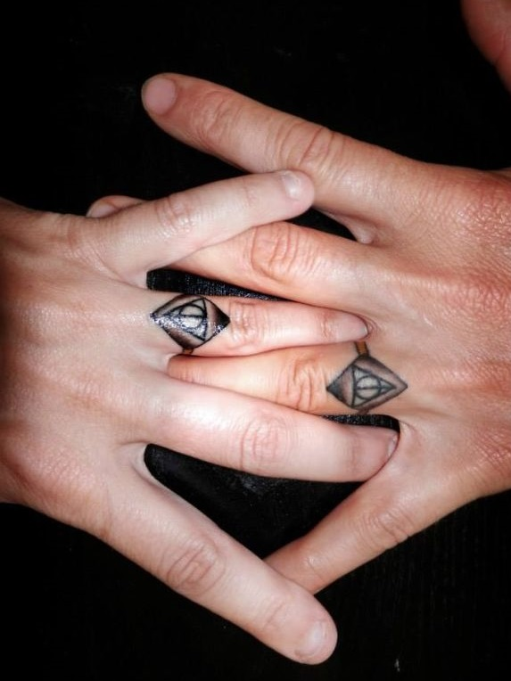 парное тату бриллианты