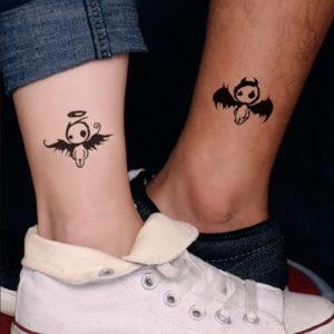 парные тату для влюбленных