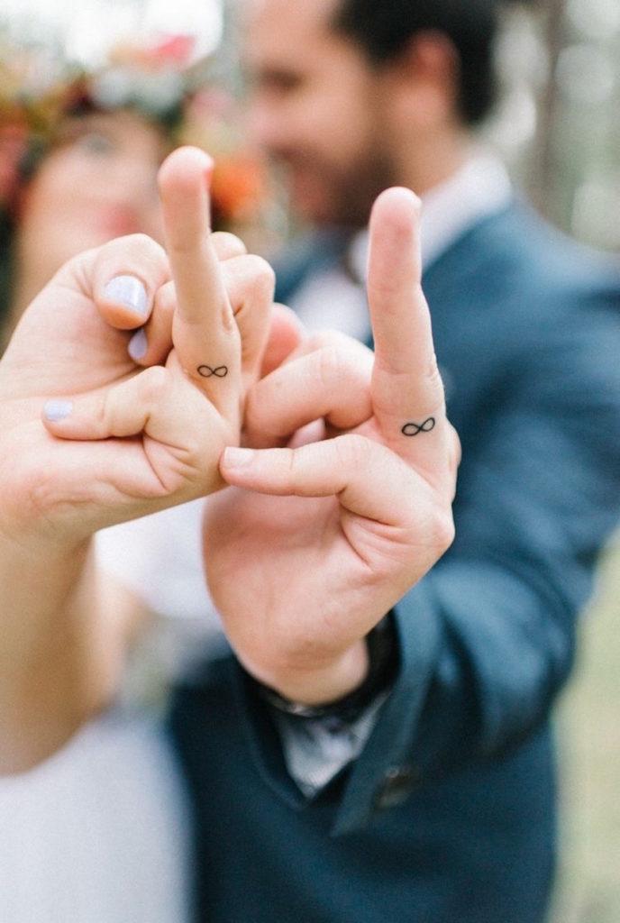 тату для пары влюбленных