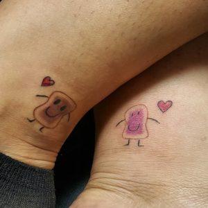татуировки для влюбленных