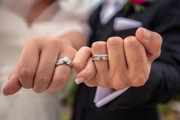 обручальное кольцо на левой руке у католиков