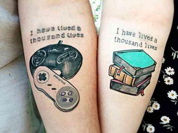 оригинальные парные тату для влюбленных