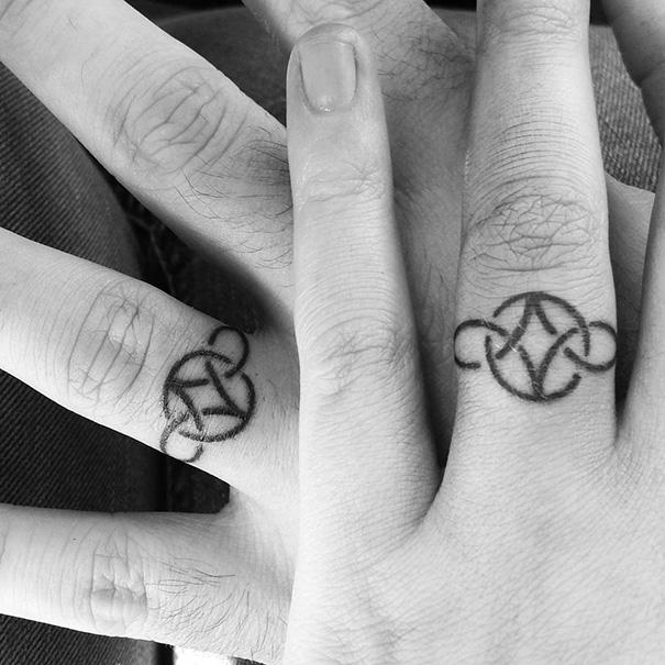 парные татуировки для двоих влюбленных красивые