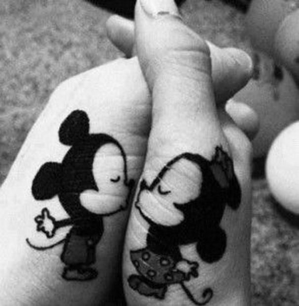 маленькие парные татуировки