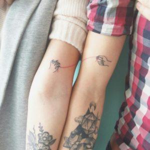 парные тату для влюбленных пар