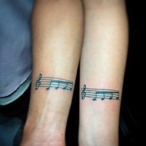 красивые парные татуировки для влюбленных