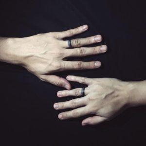 тату для влюбленных фото кольца