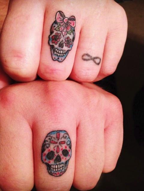 маленькие татуировки для влюбленных