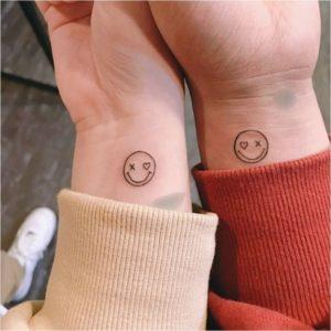 парная татуировка для двоих