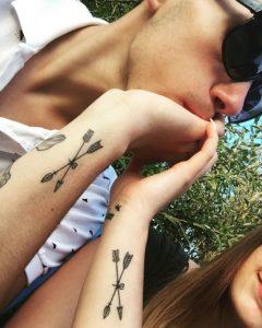 парные тату для влюбленных фото