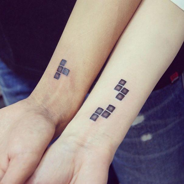 оригинальные парные татуировки