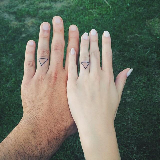 двойные тату для влюбленных
