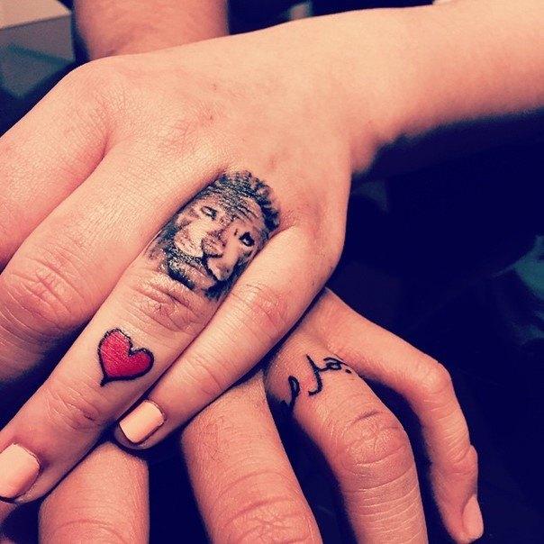 эскизы парных татуировок для двоих