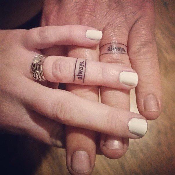 татуировки для пары влюбленных со смыслом фото
