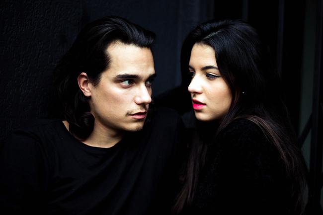 пара: мужчина и девушка